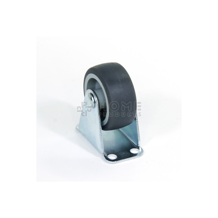 Bokwiel 40x17mm TPR (Thermo Plastisch Rubber)